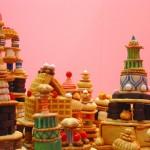 City Sweet City Installazione edibile